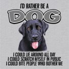 Dog Lover T-shirt Cotton Gray NWT Animal Pet S-M-L-XL-2XL Screen Print Front