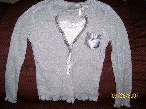 Girls Gray Long Sleeve Shirt