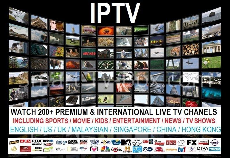 PREMIUM INTERNET TV English & US Channel Live IPTV - No Buffering