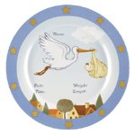 BOY BIRTH ANNOUNCEMENT PLATE