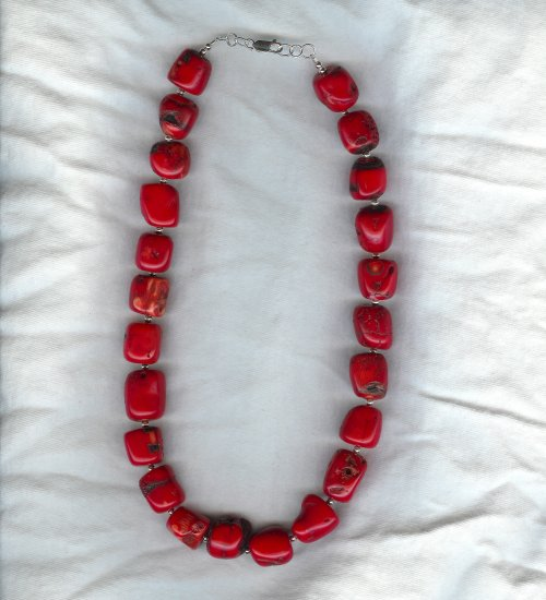 Red Chunky Coral ***ON SALE***