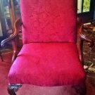 Chippendale Style Victorian Arm Chair