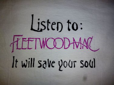 NEW Fleetwood Mac Stevie Nicks T-shirt / 60's Concert / 70's Boho S, M, L, XL
