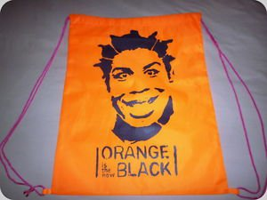 Crazy Eyes OITNB Backpack Drawstring Bookbag Orange is the New Black T-shirt Gay