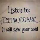 Fleetwood Mac Tote Bag / Purse / Handbag / Stevie Nicks Shirt / Retro Rock NEW