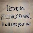 Fleetwood Mac Tote Bag / Purse / Handbag / Stevie Nicks Shirt / Retro Rock NEW