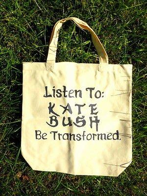 Kate Bush Tote Bag / Wuthering Heights / 80's 90's - Retro Shirt Vinyl New