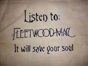 Fleetwood Mac Tote Bag / Purse / Handbag / Stevie Nicks Shirt / Retro Vtg Rock