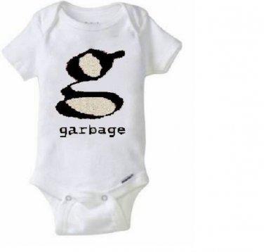 Garbage / Shirley Manson Baby Onesie Snapsuit Music Band / Toddler Tshirt 90's Riot Grrl