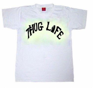 2pac Thug Life Toddler Kids T-shirt Tupac Shakur HipHop Rap 90s Snoop Dogg Dr Dre