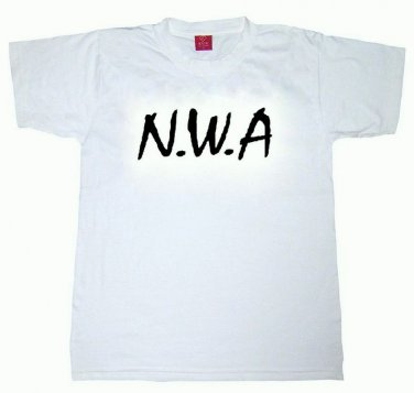 N.W.A Toddler Kids T-shirt Hip Hop Rap Ice Cube Dr Dre LA Cali 2-3T 4T Small 90s