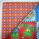 Orange Floral n' Child Print - Two FAT Quarters (2725)