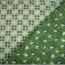 Avocado Jewels n Matching Print - Two FAT Quarters (2743)