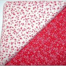 Red w/White n White w/Red Print - Two FAT Quarters (2759)