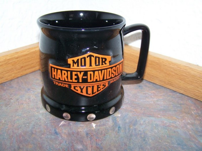 Harley Davidson Black Coffee Mug