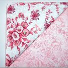 Pink Florals - TWO Fat Quarters (2782)