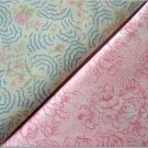 Rosebuds n' Pink Floral Print - TWO Fat Quarters (2805)