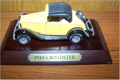 1930's Roadster Yellow Car - AVON?
