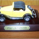 1930's Roadster Yellow Car - AVON?