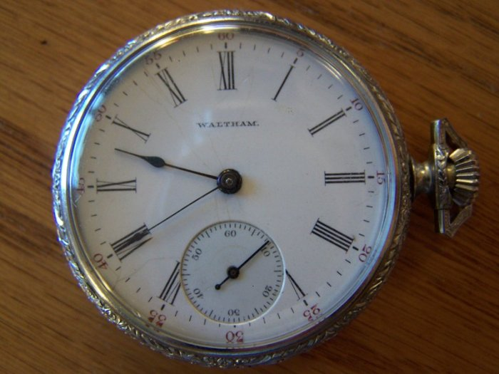 1903-1904 Waltham Pocket Watch * MUST SEE THIS!