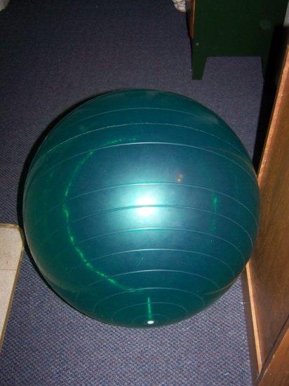 Green Exercise Ball