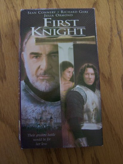 First Knight - VHS/VCR - Excellent Movie