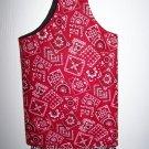 Tote Bag - Red Bandana Print