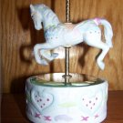 Porcelain Prancers - Horse Carousel * MUSICAL