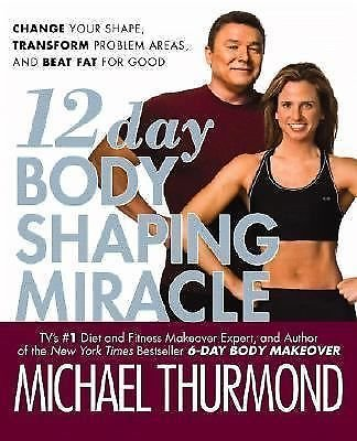 12-Day Body Shaping Miracle: Change Your Shape, Transform Problem Areas, NWT