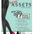 ASSETS HIGH WAIST SHAPING Elastic waist Sheer PANTY HOSE SIZE 1 BLACK NEW