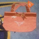 SPIRIT READY Texas Longhorn Purse NWT