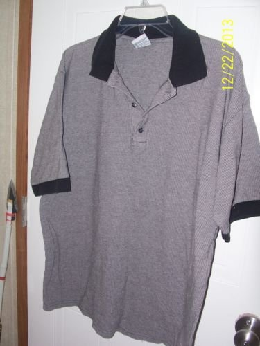Miami T's  Size XLARGE Black/Olive Green Pre Owned Good Condition Polo T-Shirt