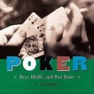 Poker : Bets, Bluffs and Bad Beats by Al Alvarez (2001, Hardcover)