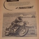 Vintage 1960s ad Triumph motorcycles