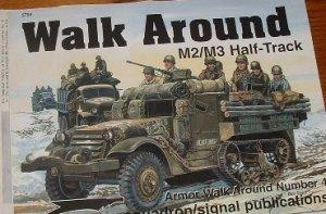 M2/M3 Half-tracks walk around