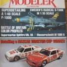 FineScale Modeler October 1988 1/35 S-tank 1/48 F-100 Battle of Britain profiles