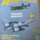 Aeroplane Dec 1986 Wellington Fairey Battle Heinkel He 51 Hess