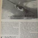 Rodic Rubber Corporation / Martin B-26 Marauder bomber ad