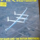 Air International April 1985 Rutan Voyager Chilean Air Force  Red Flag Spitfire