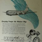 Foote Bros. / Boeing C-97A Stratofreighter MATS ad