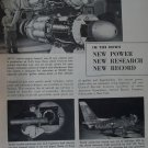 GE General Electric J47 turbojet / F-86 Sabre jet fighter ad