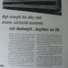 1954 International Nickel/ Pullman Standard Milwaukee Road domeliner ad