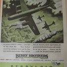 WWII Berry Brothers / Berryloid Aircraft Finishes / Boeing B-29 Superfortress ad