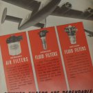 1940s WWII Skinner Air Purifiers B-24 Liberator ad