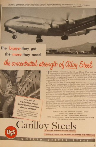 US Steel / Lockheed Constitution ad