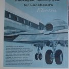 Measco Manufacturing / Lockheed Electra airliner ad