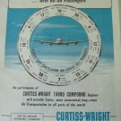 1950s Curtiss-Wright Turbo-Compound / Lockheed Super Constellation ad