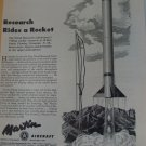 Martin Aircraft / Viking Research Rocket ad