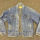 Vtg Levis Blanket Lined Denim Jacket 71506-0316 Sz 38L USA Made