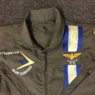 Vtg Attack Squadron 146 Blue Diamond Aramid Embroidered Flightsuit Scovill Zip